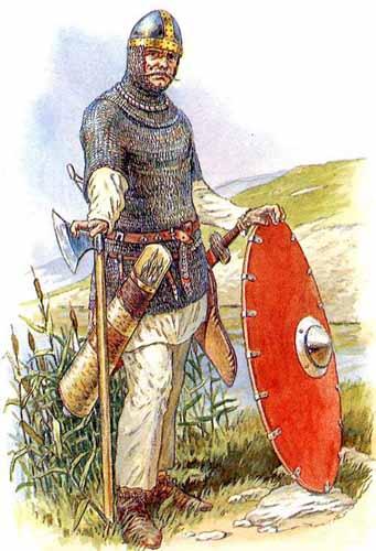 Русский воин, художник И. Дзысь