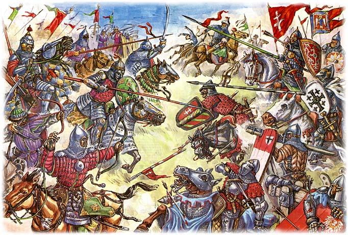 Битва на реке Ворскле