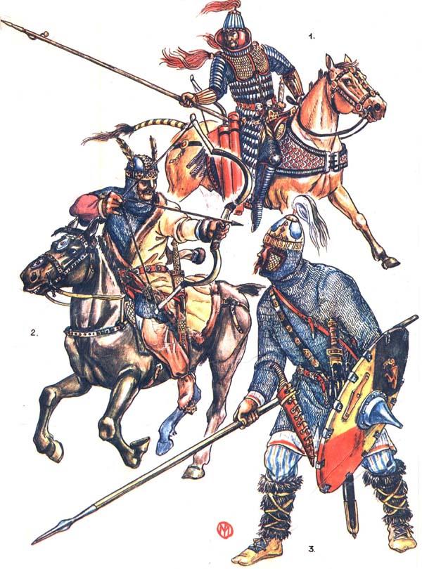 Среднеазиатский хунн,европейский гунн и гот