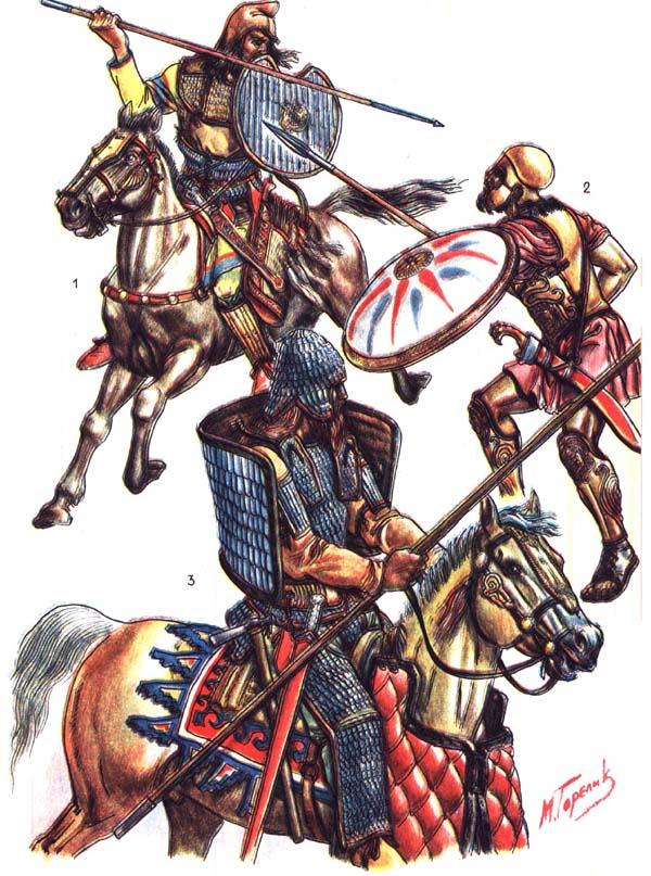 Греческий воин и скифы