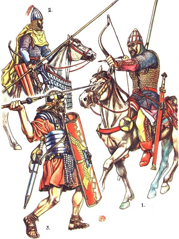 Сармат, боспорец, римский легионер