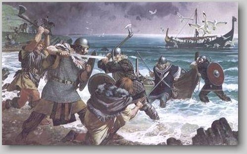 Высадка викингов в Ирландии